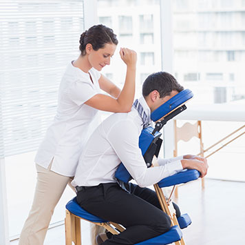 Bedrijfsmassage